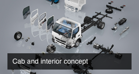 FUSO cab and interior concept